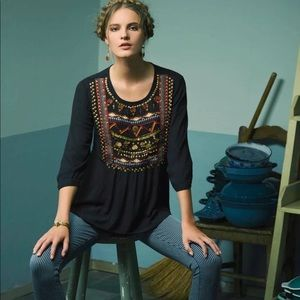 Anthropologie | HD in Paris Ari Embellished Tunic